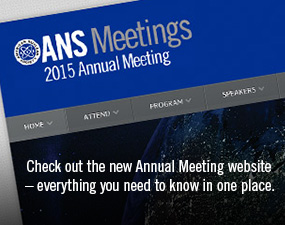ANS 2015 Annual Meeting