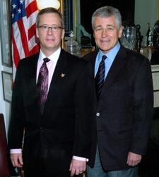 Eric Loewen as a Congressional Fellow