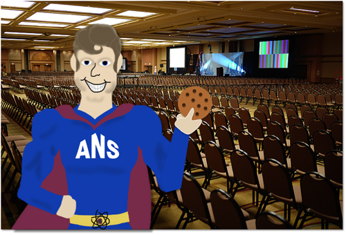 ANS Man arrives at the Chattanooga Convention Center