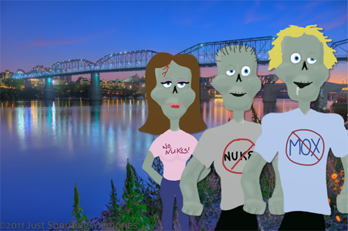 Zombies in Chattanooga TN
