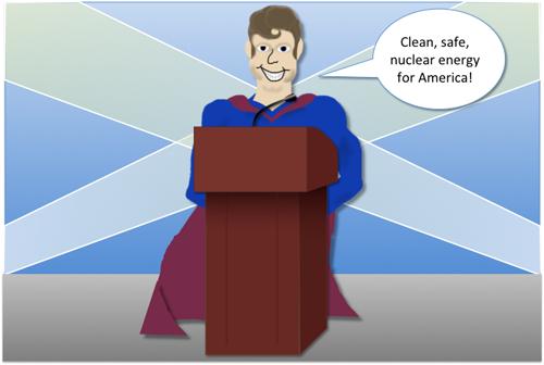 Eloquent Nuclear Super Hero