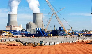 Nuclear construction at Plant Vogtle, Georgia