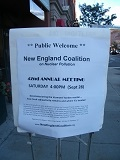 new england coalition 42nd annual meeting flyer 120x160