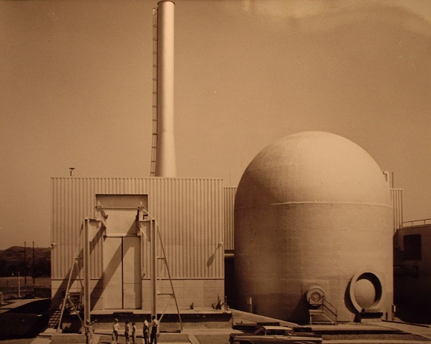 Pathfinder Atomic Power Plant.  Press photo, Will Davis collection.