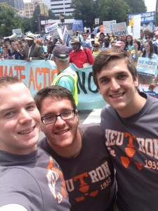 UT students at the EPA Clean Power Rule hearing