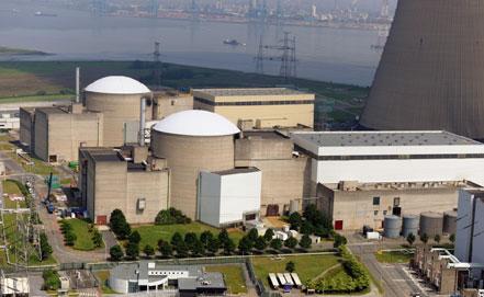 Doel Nuclear Power Plant.  Courtesy Electrabel.