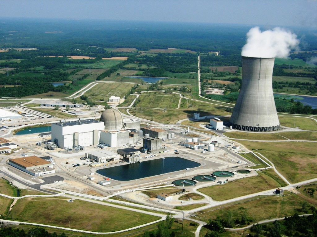 Callaway Energy Center - one of the completed, historic SNUPPS nuclear plants.  Photo courtesy AMEREN Missouri.