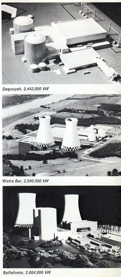 TVA Three Nuclear Plants Projected
