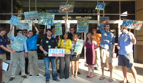 Pro-Nuclear Rally in Chattanooga, Tennessee
