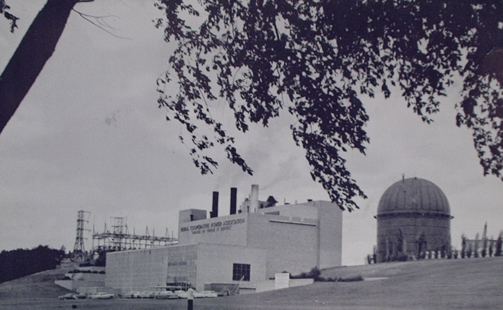Elk River Plant.  Post card, Will Davis collection.