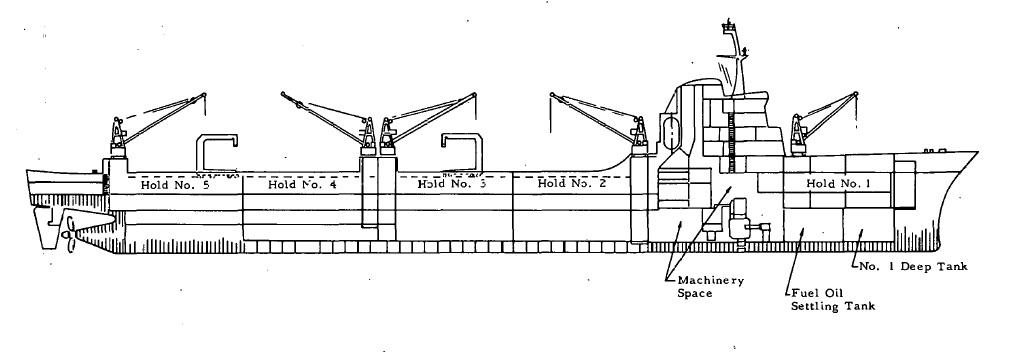 MARAD PD108 with BW CNSG 1962