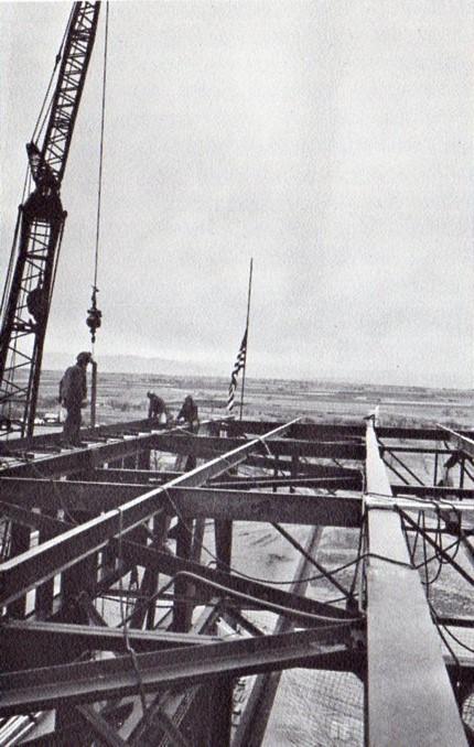 Fort St Vrain placing last steel