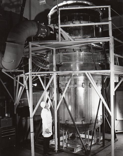 Fort St Vrain scale reactor vessel