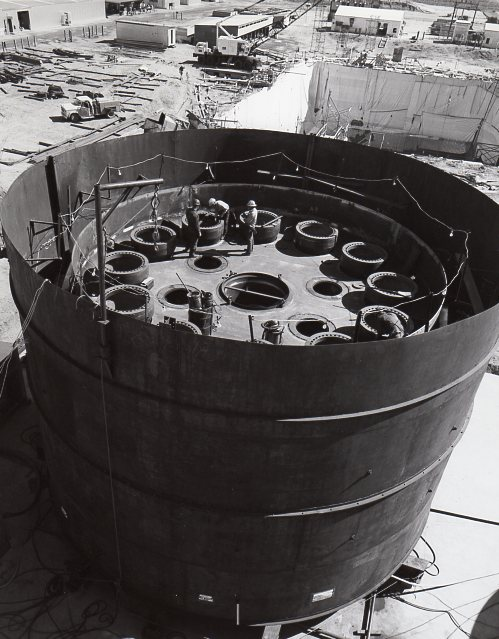 Fort St Vrain welding lower head