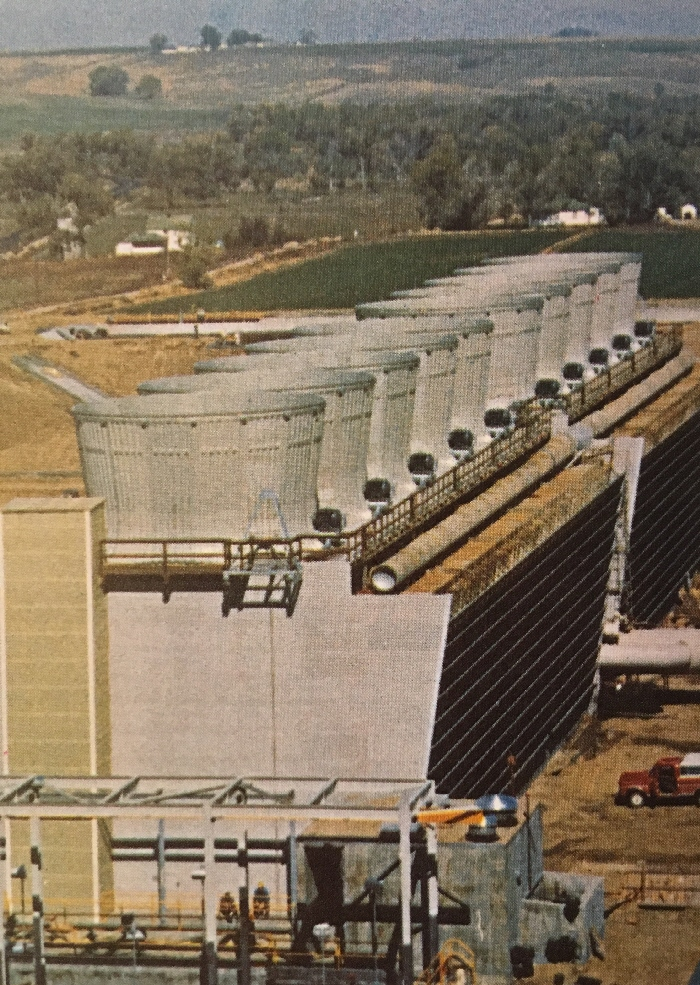 Fort St Vrain cooling tower