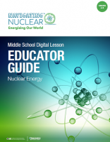 Educator Guide Cover Navigating Nuclear