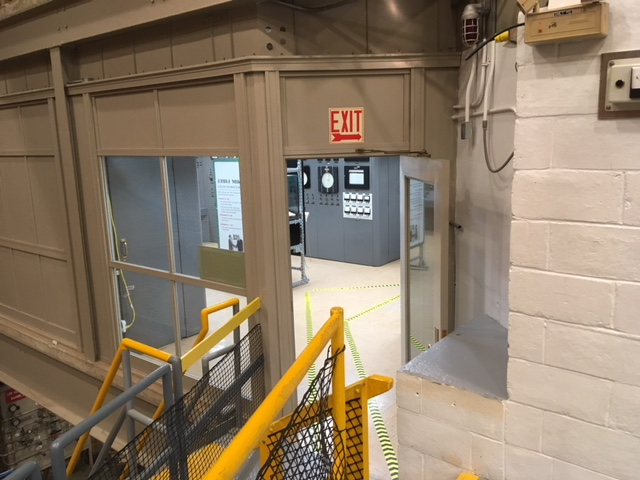 EBR 1 control room Will Davis