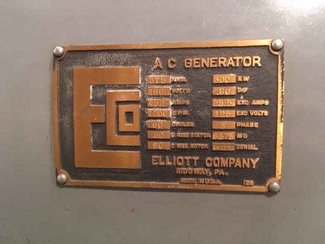 EBR 1 generator nameplate Will Davis