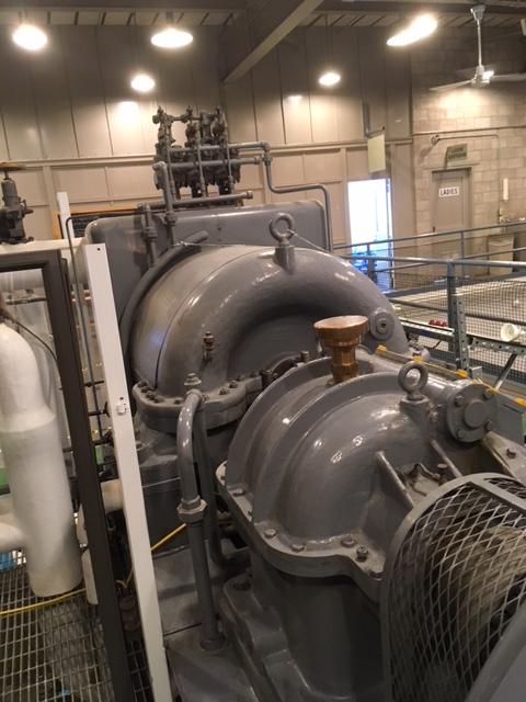 EBR 1 turbine generator