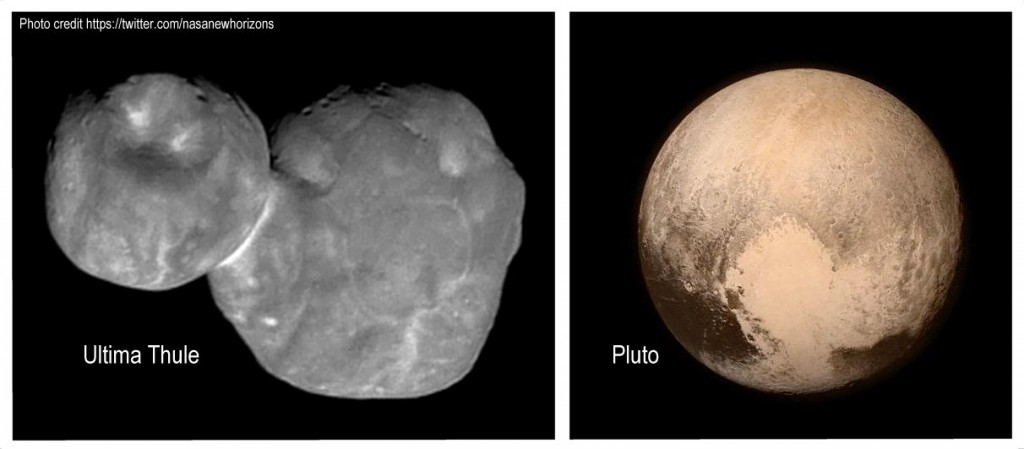 ultima thule and pluto
