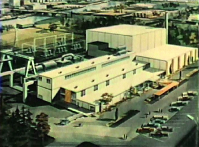 Atomics International Commercial Organic Nuclear Plant