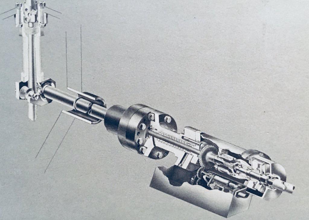 ALCO Right Angle Control Rod Drive